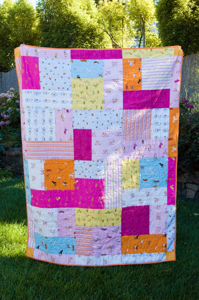 If Sew Turning 20 Quilt With Heather Ross Fabrics